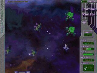 3D Spiel des intergalaktischen Krieges.