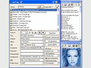 Tag-Editor und Batch Prozessor für Musikdateien.