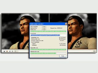 Verkleinert die Dateigröße von Flash Dateien.