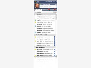 Mit dem Instant Messenger jederzeit sehen, ob Ihre Freunde gerade online sind.