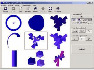 Software zur Erstellung von Firmenlogos usw.