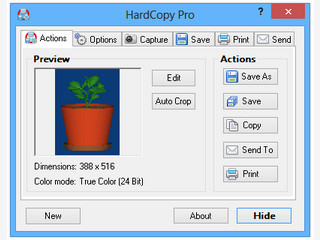 Screencapture Utility mit allen Funktionen die man erwartet.