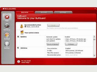 Leistungsfähige Antivirus-Lösung mit tägl. Update und weiteren Funktionen.