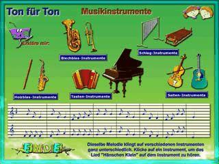 Musik-Lernspiel für Kinder