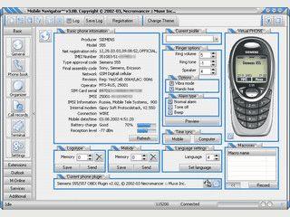 Daten-Synchronisation zwischen PC und Handy. Logo-Editor.