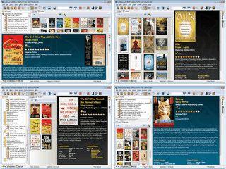 Verwaltung für Bücher mit Datenabruf von Internet-Quellen wie Amazon.