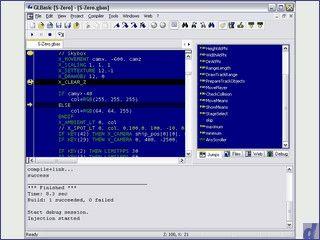 Einfache Programmiersprache zur Spieleprogrammierung.