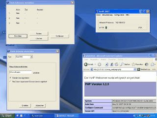 Feste Adresse fuerr HTTP und FTP-Server trotz dynamischer IP Adresse.