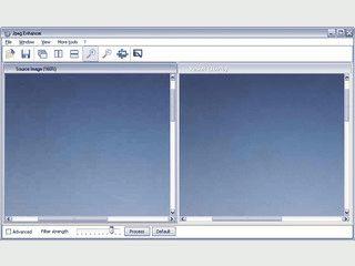 Optimierung vonm JPEG Bildern für mehr Schärfe und Kontrast.