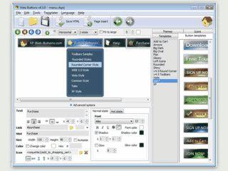 Erstellen Sie Buttons und Menüs im XP-Design in nur wenigen Schritten.