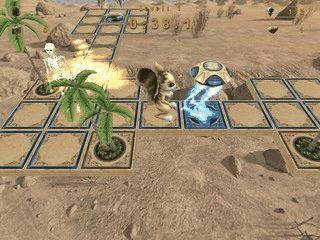 3-Dimensionale Mischung aus Labyrinth und Plattform Jumper