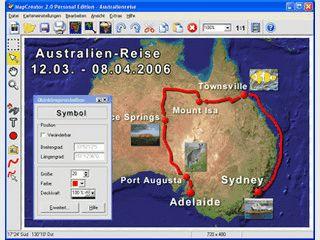 Karten und Kartenanimationen in hoher grafischer Darstellungsqualität erstellen