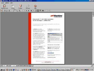 PDF Dokumente erstellen, bearbeiten und als eMail versenden.