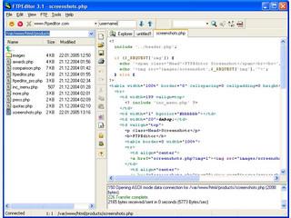 Dateien auf FTP Server bearbeiten wie auf der Festplatte.