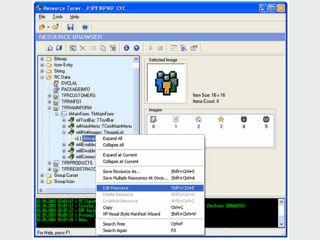 Die Ressourcen von Exe- und DLL-Dateien modifizieren.
