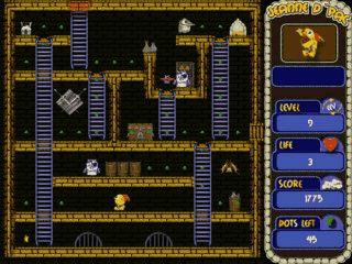 PacMan Variante mit zusätzlicher Kinder-Version