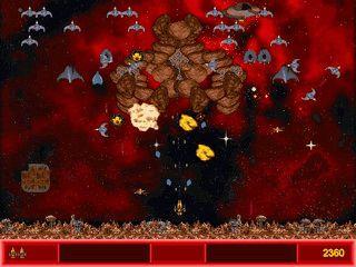 Space-Shooter im Stile von Space Invaders mit vielen Gegnern