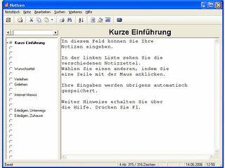 Die Alltags-Notizen verwalten Notizzettel, Denkzettel, Memos, Wunschzettel