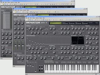 Geniator XS-1, Virtual Music Workstation, Software Synthesizer