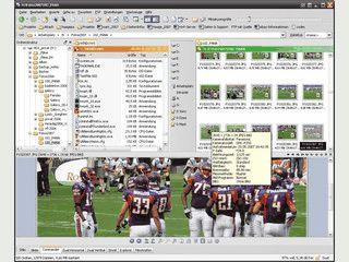 Dateimanager mit umfangreichen Funktionen und integrierter Dateivorschau