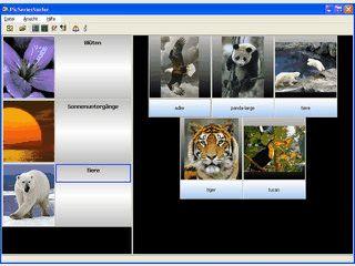 Automatische Katalogiesierung von Bildern in Verzeichnissen