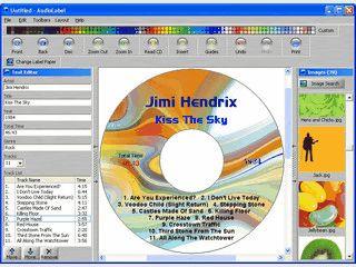 Software zur Erstellung von CD Labels und Einlgern