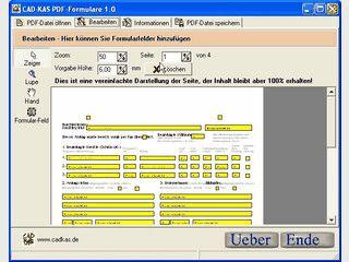 Fügt PDF Dateien Formularfelder hinzu.