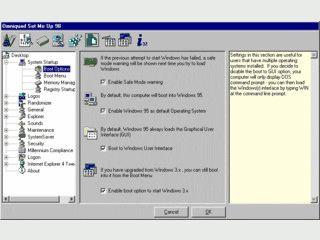 Tool um versteckte und nicht vorhandene Funktionen in Windows zu konfigurieren