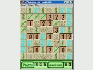 Minesweeper Variante in der Sie Pilze suchen.