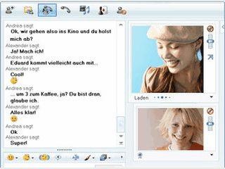 Beliebter Messenger mit Webcam-Unterstützung und vielen Optionen