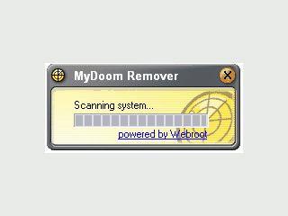 Beseitigt den Wurm MyDoom