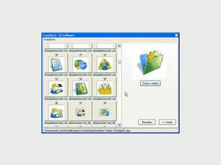 Konvertierung und Größenänderung von Bilddateien im Explorer.