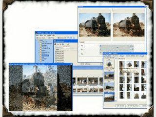 Grafikprogramm für die Bildbearbeitung