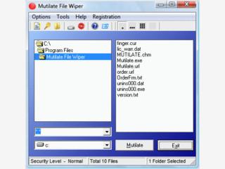 Tool zum sicheren und unwiederuflichen Löschen von Dateien.