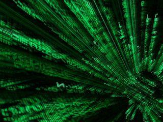 3D Screensaver der durch den Film Matrix inspiriert ist.