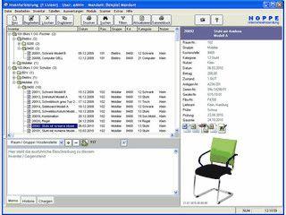 Software zur Erfassung und Verwaltung von Inventar
