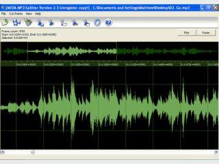 Teilt MP3 Dateien in kleinere Einzeldateien.