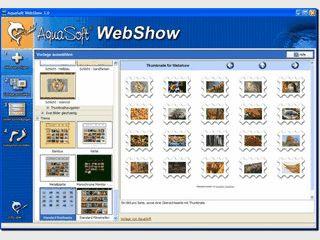 Webshows mit Profifunktionen, Webseiten mit eigenen Fotos selbst erstellen