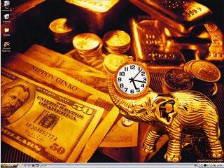Desktop und SysTray Uhr mit verschiedenen Skins und Alarmfunktion.