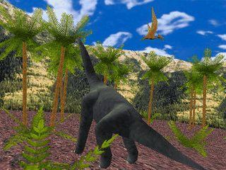 Unternehmen Sie eine virtuelle Zeitreise in die Welt der Dinosaurier.