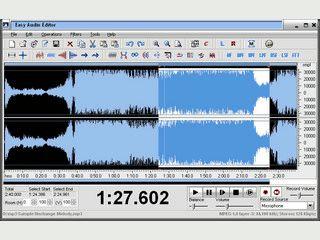 Audio-Editor mit übersichtlicher Oberfläche. Unterstützt zahlreiche Formate.