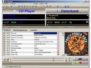 CD-Player und -Datenbank mit FreeDB-Zugriff