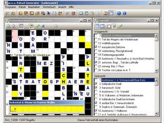 Der Rätsel-Generator erstellt 17 verschiedene Kreuzworträtsel und Sudokus