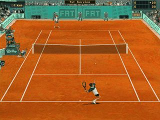 Gut gemachte Tennis Simulation
