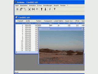 Erstellen und bearbeiten animierter GIF-Bilder für Anwendungen im Internet