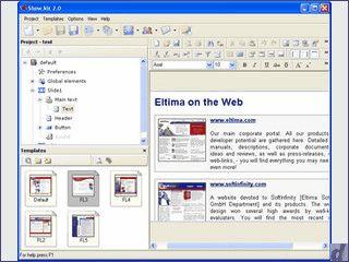 Multimedia-Autorensystem zur Erstellung von Flash Präsentationen