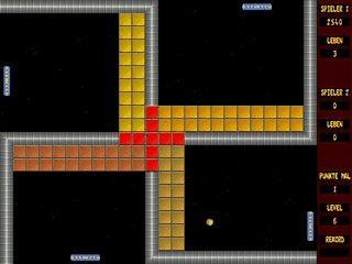 Dieses etwas andere Breakout-Spiel fordert Ihre volle Konzentration.