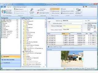 Archivieren Datenträger mit Vorschau: CD, DVD, MP3, Fotos, Speichercards.