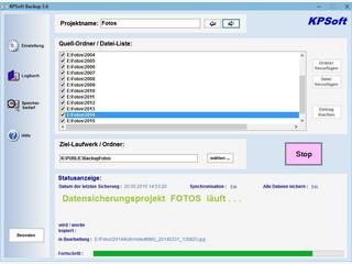 Software zur Dateisynchronisation und Datensicherung