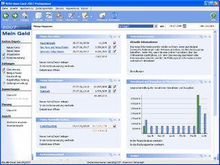 Online-Banking plus Depotverwaltung und Online-Kursaktualisierung.